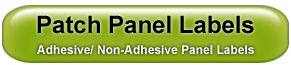 Patch Panel Labels- Adhesive and Non-Adhesive