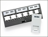 Adhesive Outlet labels